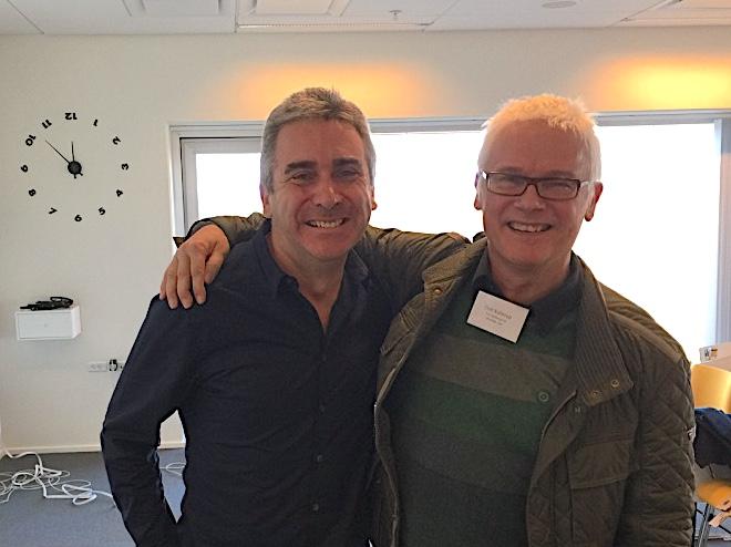 Peter Fisk and Finn Kollerup