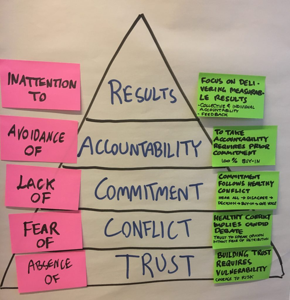 Lencioni - 5 Dysfunctions of a Team